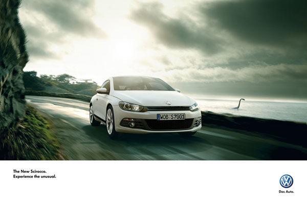 publicité lochness Volkswagen