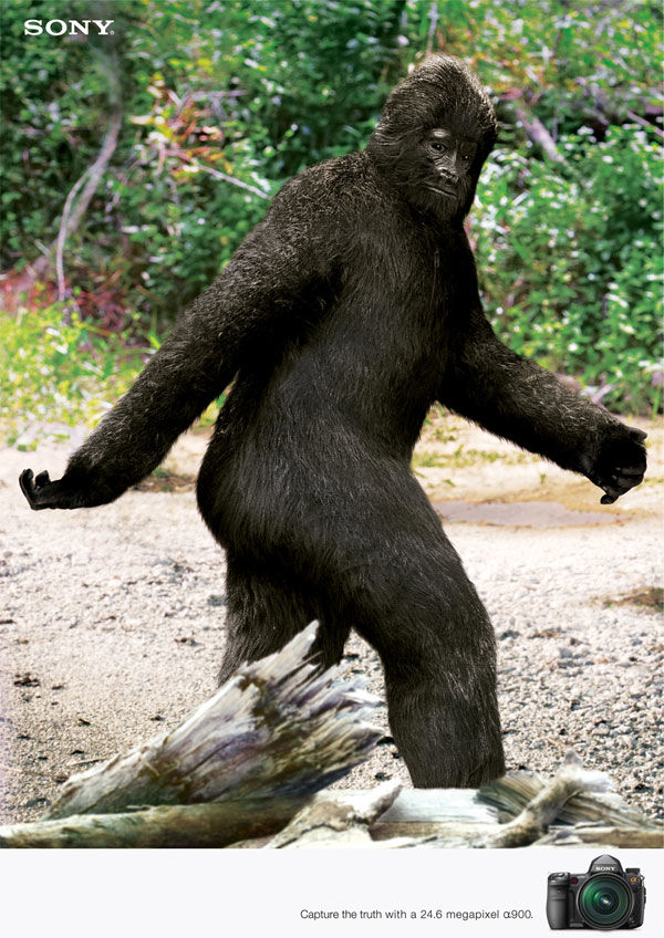 publicité Bigfoot Sony