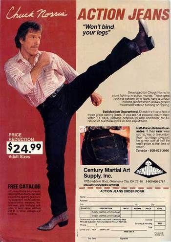 pub chuck norris Action Jeans