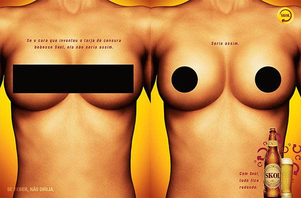 publicité censurée Skol