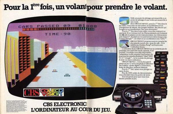 pub console ColecoVision