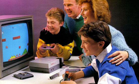 pub console Nintendo NES