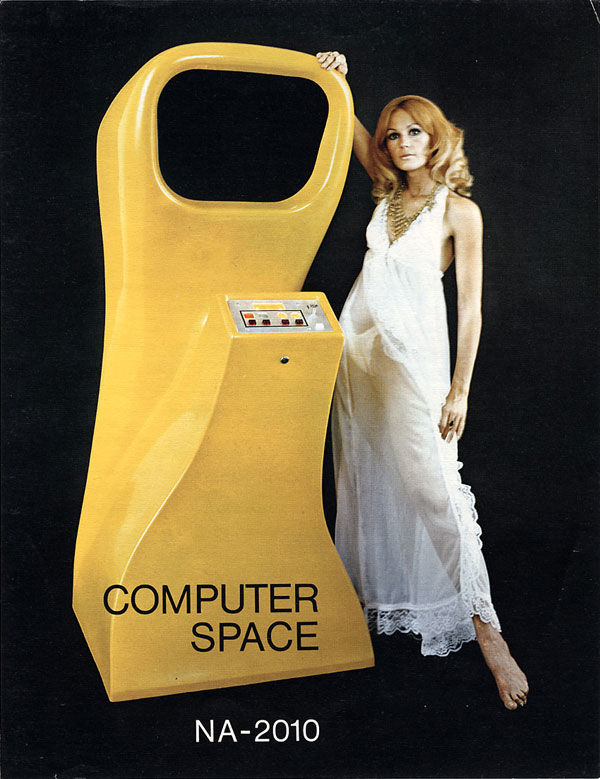 pub console Computer Space