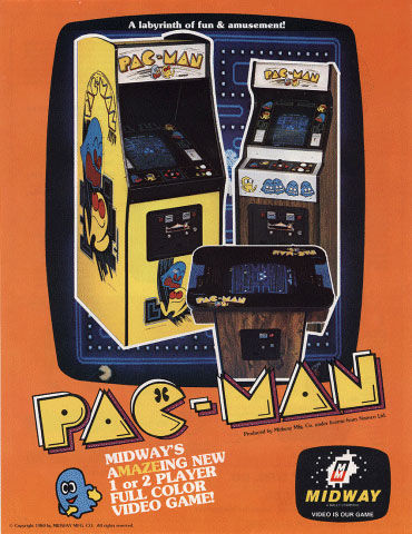 pub console Pac-Man