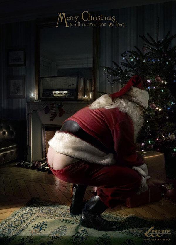 Père Noël BTP