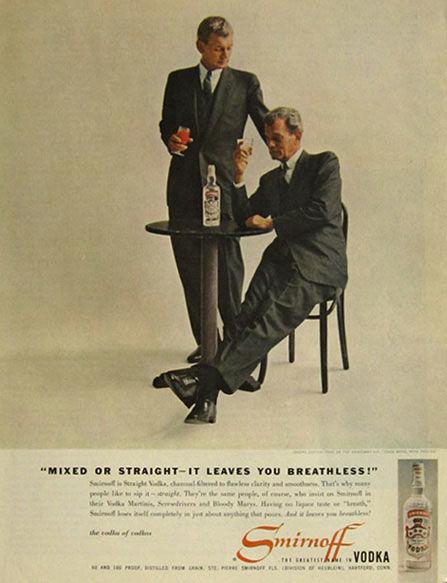 publicité smirnoff homosexuels