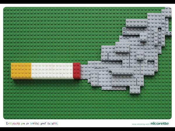publicité cigarette Nicorette