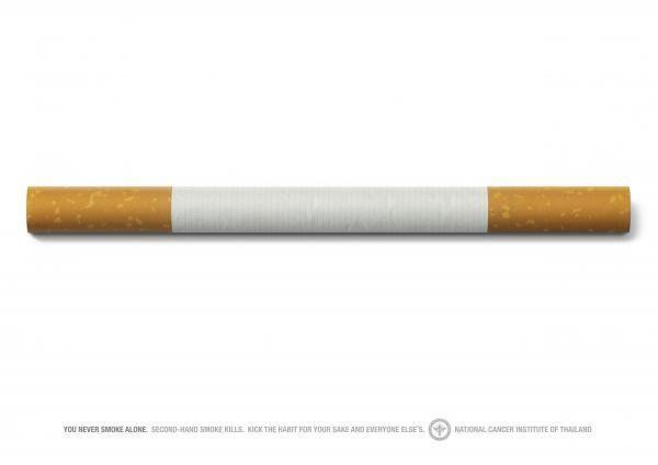 publicité cigarette National Cancer Institute of Thailand