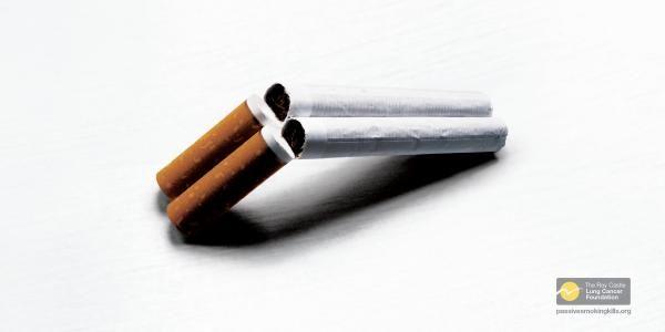 publicité cigarette The Roy Castle Lung Cancer Foundation