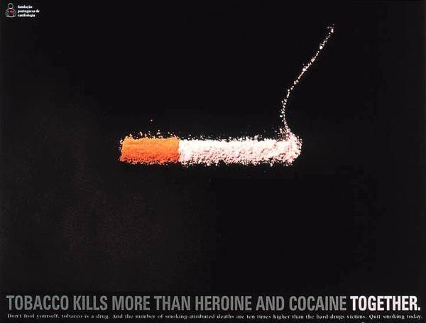 publicité cigarette Anti Smoking