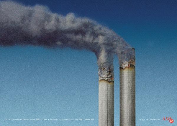 publicité cigarette ASH