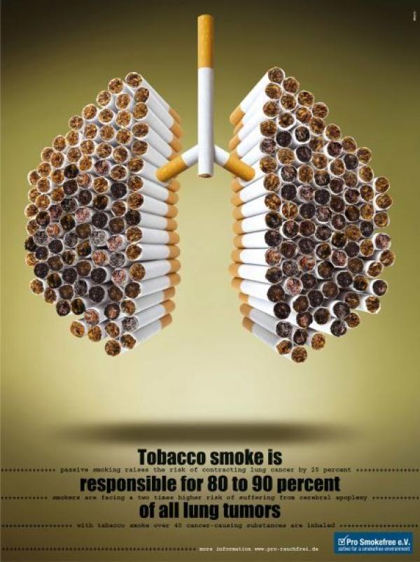 publicité cigarette Pro Smokefree e.V.