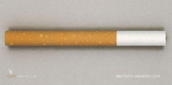 publicité cigarette Quit Smoking
