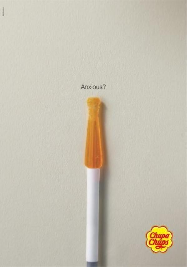 publicité cigarette chupa chups