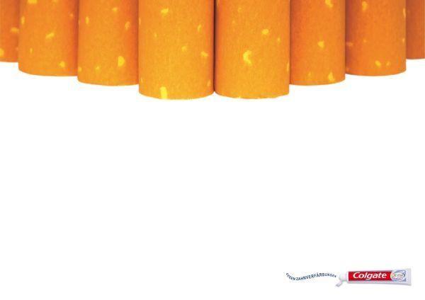 publicité cigarette colgate