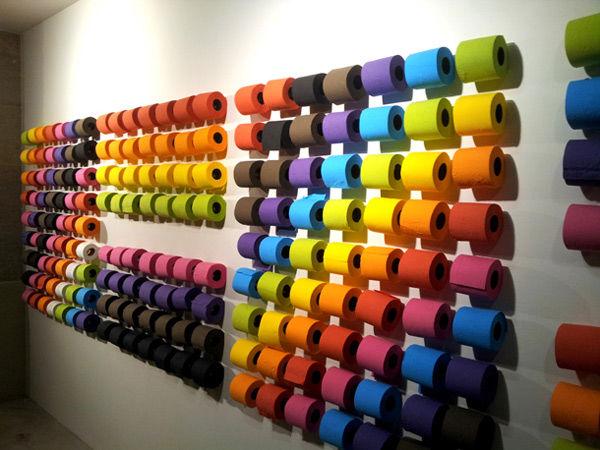Papier toilette et publicit 40 pubs bien torch es - Papier peint rouleau papier toilette ...