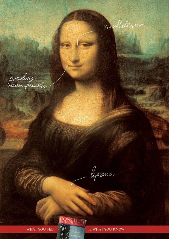Publicité Mona Lisa Consilium Medicum