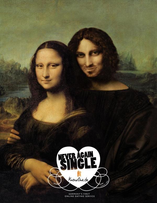 Publicité Mona Lisa Knowone.de