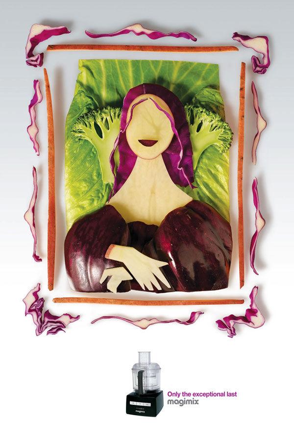Publicité Mona Lisa Magimix