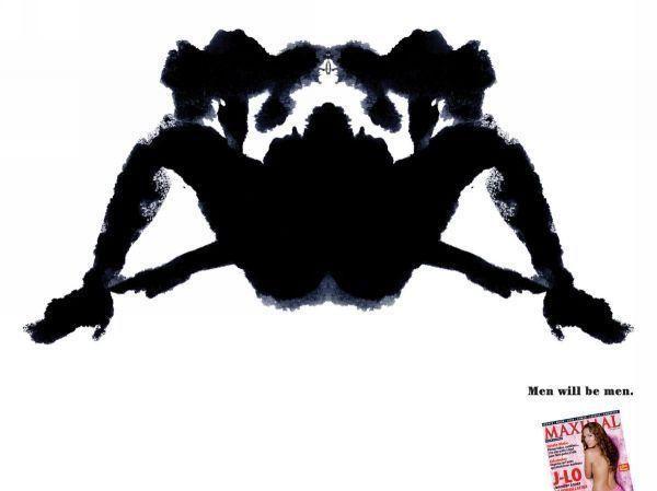 publicité Rorschach maximal
