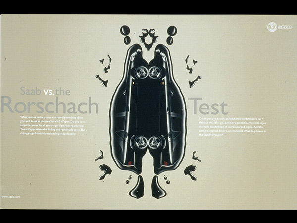 publicité Rorschach saab