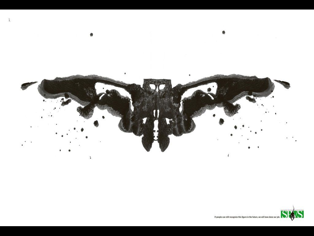 publicité Rorschach SPVS - Society of Practising Veterinary Surgeons