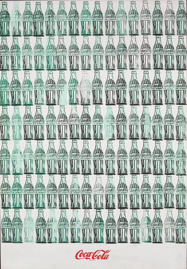 Green Coca-Cola Bottles Andy Warhol 1962