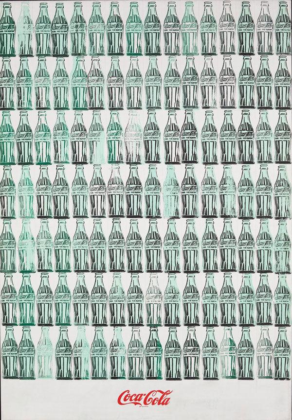 Green Coca-Cola Bottles Andy Warhol 1962