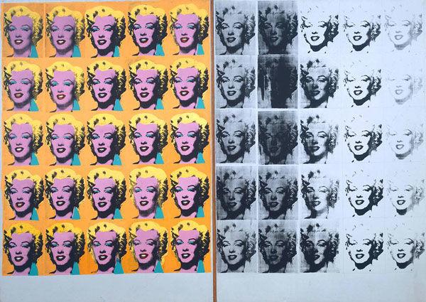 Marilyn Diptych : 1962, Andy Warhol