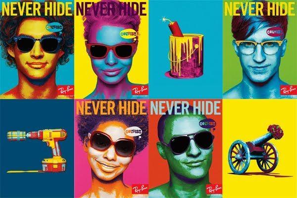 publicité pop art Rayban
