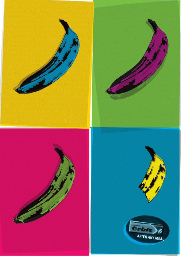 publicité pop art Orbit