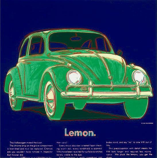 Volkswagen Lemon Warhol