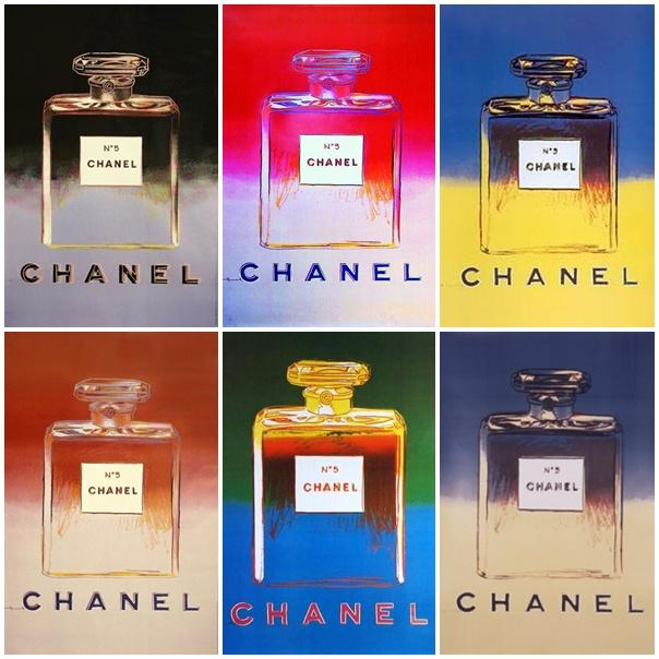 publicité pop art Chanel