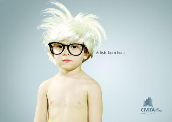 publicité Civita art school