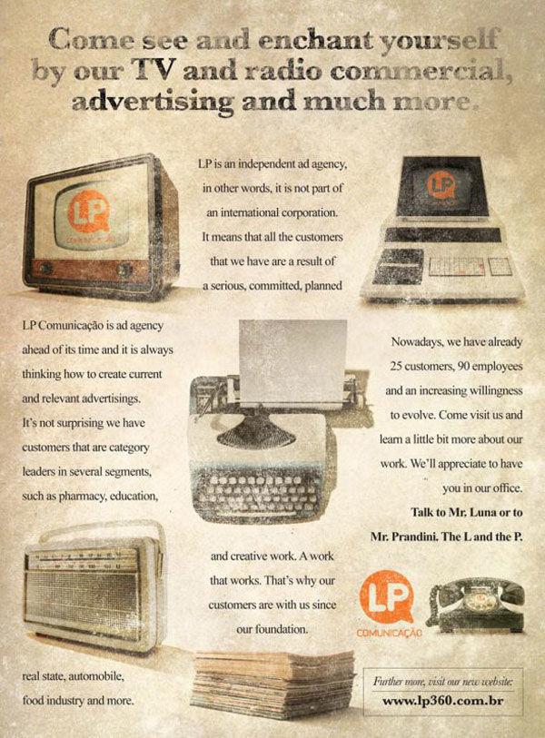 publicité retro LP 360