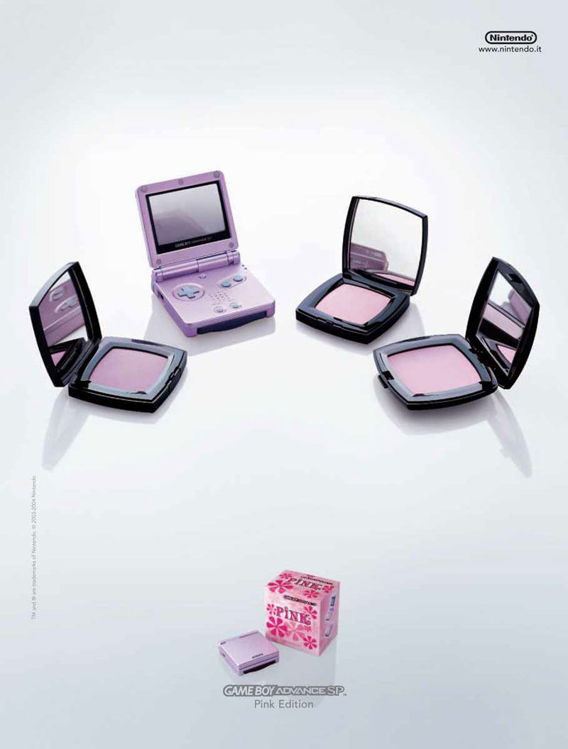pub Game Boy pink edition 2005
