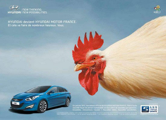 publicité Hyundai Made in France