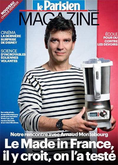 Arnaud Montebourg couverture Le Parisien