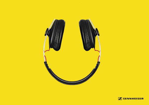 pub smiley Sennheiser