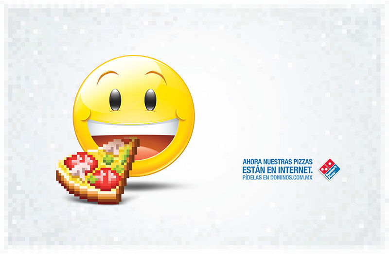 pub smiley Domino's