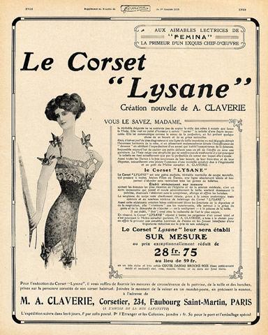 pub lingerie corset lysane