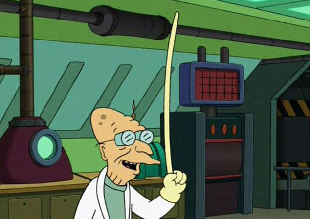 finger-longer, l'invention de Futurama