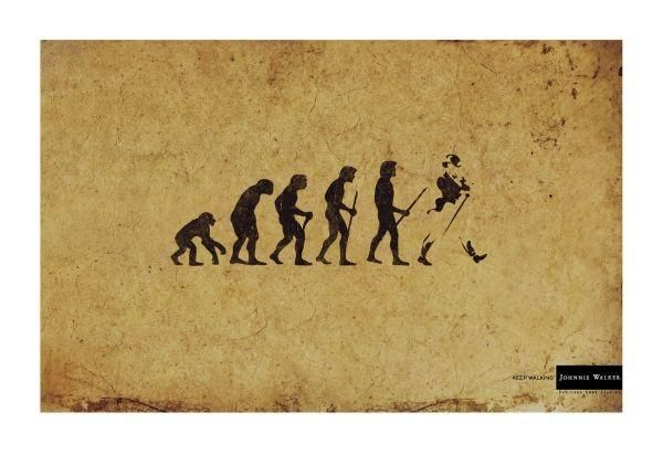 pub evolution Johnny Walker
