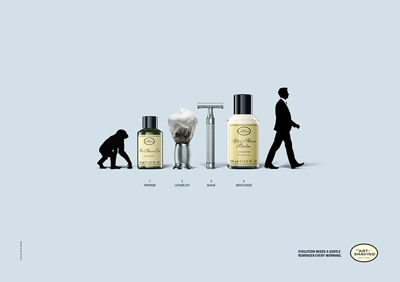pub evolution Art of shaving