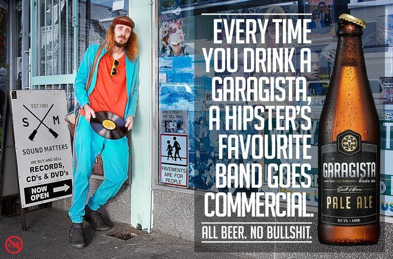 pub hipster Garagista