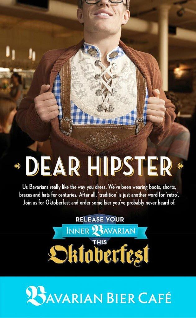 pub hipster Bavarian Bier Café