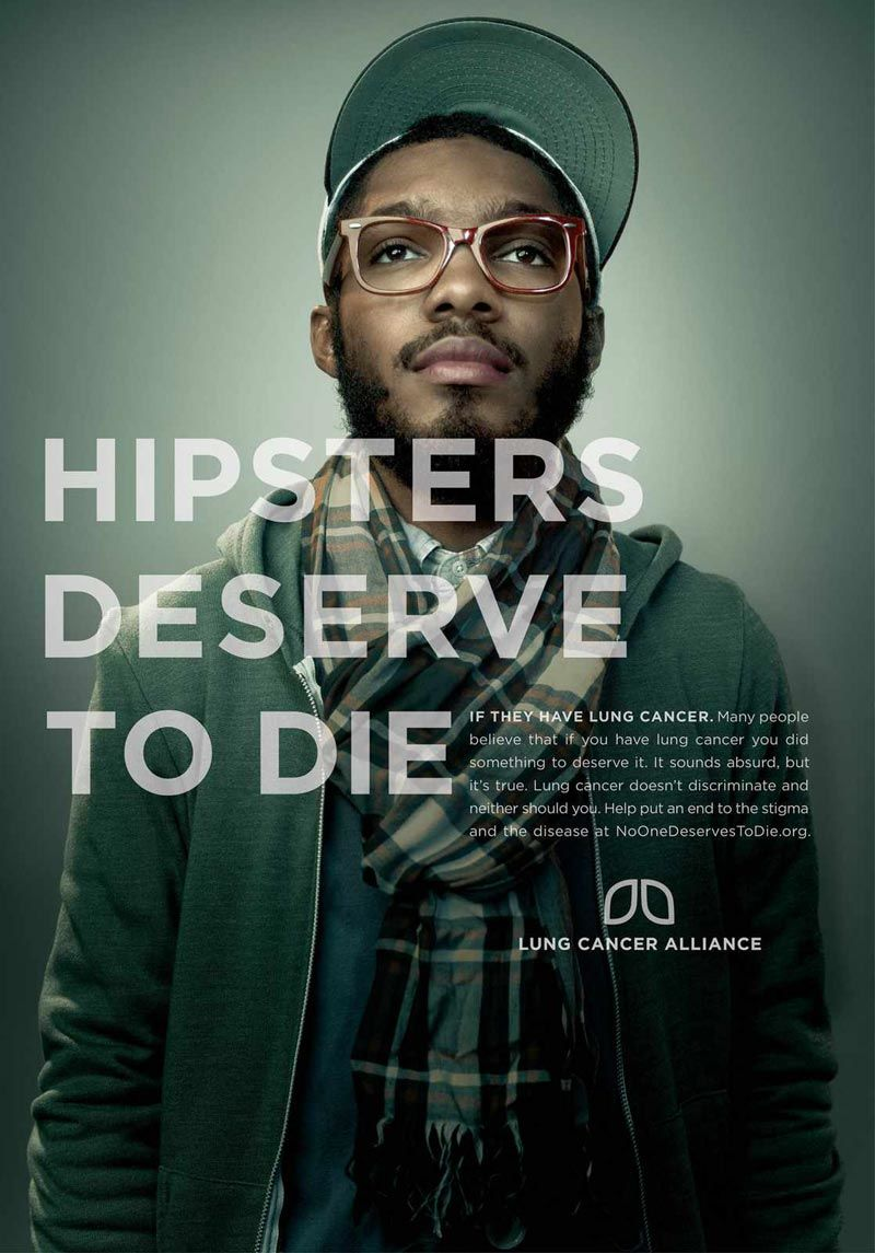 pub hipster Lung cancer alliance