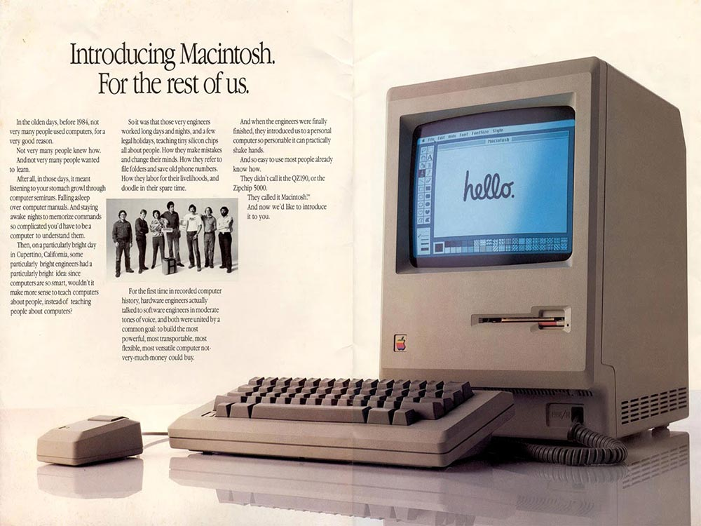 publicité Apple Macintosh