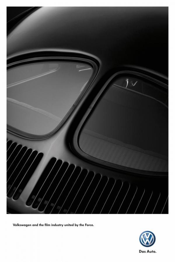 pub Dark Vador Volkswagen