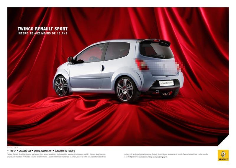 publicité pixels Renault